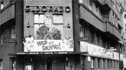 Der berühmteste Club des schwul-lesbischen Berlins der Zwanziger war das Eldorado. Das Bild zeigt den Ableger in der Motzstraße im Jahr 1932.